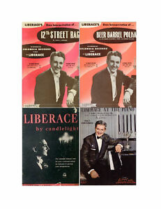 Liberace Piano Sheet Music Transcriptions 24 Sngs 115pp in Musical Instruments & Gear, Sheet Music & Song Books, Song Books | eBay