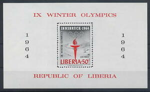 Liberia-Bl-28A-Olympiade-1964-Innsbruck-419