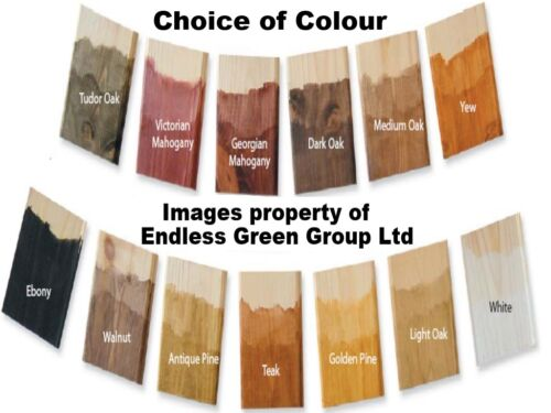Liberon Palette Dye - Water based Acrylic Wood Stain - CHOICE OF SIZE ...