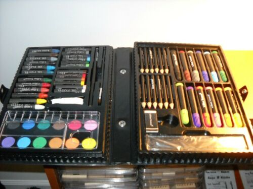 Lillian Vernon art set - wide variety of art supplies in carrying case in Crafts, Art Supplies, Other | eBay