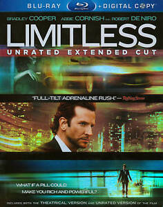 Limitless (Blu-ray Disc, 2011, 2-Disc Se...