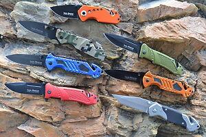 Linder-rescue-Taschen-Einhand-Rettungsmesser-Nothammer-Gurtschneider-7-Modelle