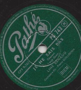 Line-Renaud-mit-Orchester-Pierre-Guillermin-Je-ne-sais-pas-Le-Bal-aux-Balea