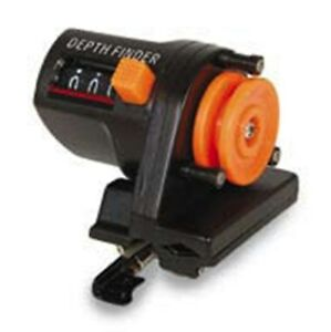 Lineaeffe sea fishing rod line counter depth counter ebay for Fishing line counter for spooling