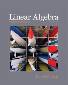 Linear Algebra and Its Applications by D...