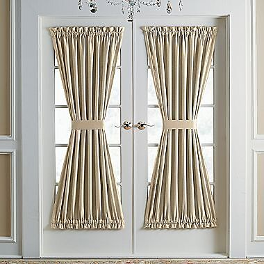 "Lined Solid Door Panel Panels Curtain Curtains 38"", 40,"" 45,"" 72"" in Home & Garden, Window Treatments & Hardware, Curtains, Drapes & Valances 