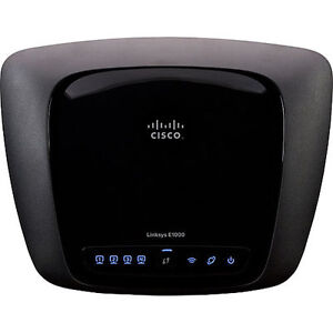 Linksys E1000 300 Mbps 4-Port 10/100 Wir...