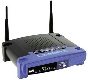 Linksys WRT54GS 54 Mbps 5-Port 10/100 Wi...