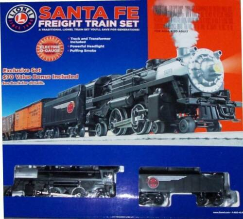 Lionel Santa Fe Freight Train Complete Set + $70 BONUS CAR+DVD+DIORAMA 7-11291 in Toys & Hobbies, Model Railroads & Trains, O Scale | eBay