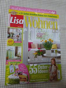 Lisa wohnen dekorieren april 2015 ebay for Lisa wohnen und dekorieren romance