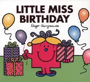 Little Miss Birthday by Adam Hargreaves ...