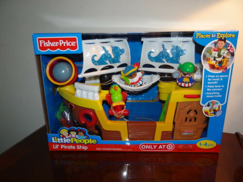 Little People Fisher Price, Pirate Ship, Ages 1-4. Toy,Boat. New in Box. in Toys & Hobbies, Pretend Play & Preschool, Fisher-Price | eBay