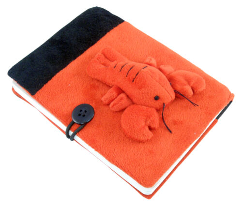 Lobster Plush Notebook in Books, Accessories, Blank Diaries & Journals | eBay