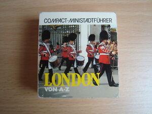 London-von-A-Z-Compact-Ministadtfuehrer-5-5-x-6cm-1986-ISBN-3-8174-3010-8