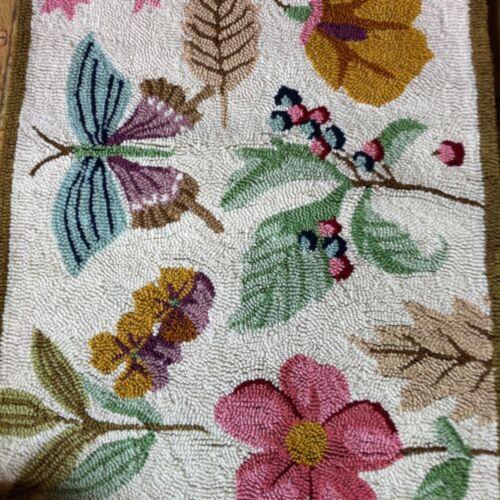 Longaberger Homestead Botanical Rug 34 x 22 in Collectibles, Decorative Collectibles, Decorative Collectible Brands | eBay