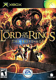Lord of the Rings: The Third Age  (Xbox,...