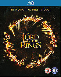 The Lord Of The Rings Trilogy (Blu-ray, ...
