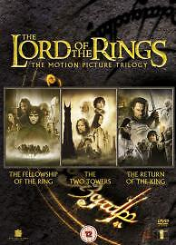 The Lord Of The Rings Trilogy (DVD, 2005...