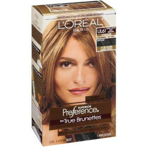 ... hair color # ul61ult ra light ash brown light copper brown hair color