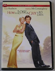 How to Lose a Guy in 10 Days (DVD, 2003,...
