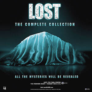 Lost: The Complete Series (DVD, 2010, 37...