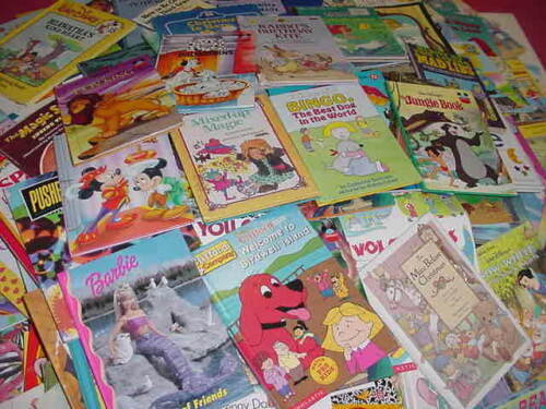 Lot of 100 Disney Golden Scholastic Learn to Read Mixed Set Kids Children Books in Books, Children & Young Adults | eBay