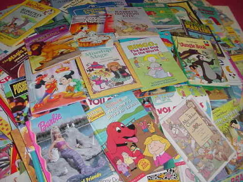 Lot of 16 Kids Books Preschool Berenstain E. Carle Sesame St, Clifford, Dinosaur