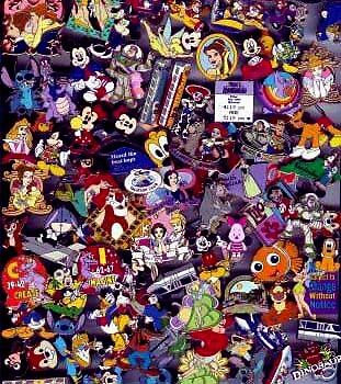 Lot of 50 Disney Trading Pins 100% Tradeable SAVE BIG SAVE $^&*( in Collectibles, Disneyana, Contemporary (1968-Now) | eBay