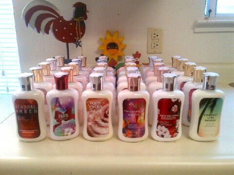 Lots of 25 New BATH AND BODY WORKS LOTION 8 oz Mix Match You Choose You Pick in Health & Beauty, Bath & Body, Lotions-Body | eBay