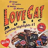 LoveCat Music Catalog Highlights, Vol. 1...