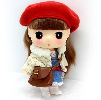 Lovely Cute Collectible Doll 18cm School Girl DDUNG