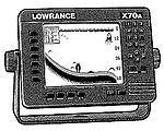 Lowrance X70A Fishfinder