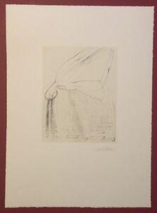 Lrmel-Droese-la-pioggia-litografia-1999-a-mano-firmata-e-datata