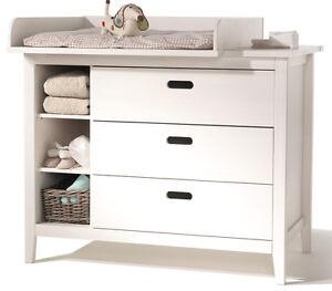 lumio baby m bel massiv kiefer wickeltisch kommode wickelaufsatz wei ebay. Black Bedroom Furniture Sets. Home Design Ideas