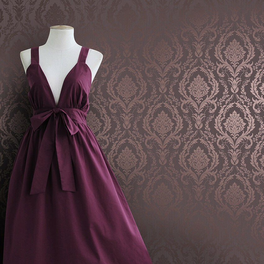 Luxrious purple silver damask embossed textured background for Purple and silver wallpaper