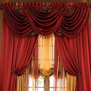 Luxurious Hilton Window Treatment Window Curtain Panel