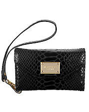 Luxury Michael Kors wallet Clutch case for iphone 4 Black python in Cell Phones & Accessories, Cell Phone Accessories, Cases, Covers & Skins | eBay