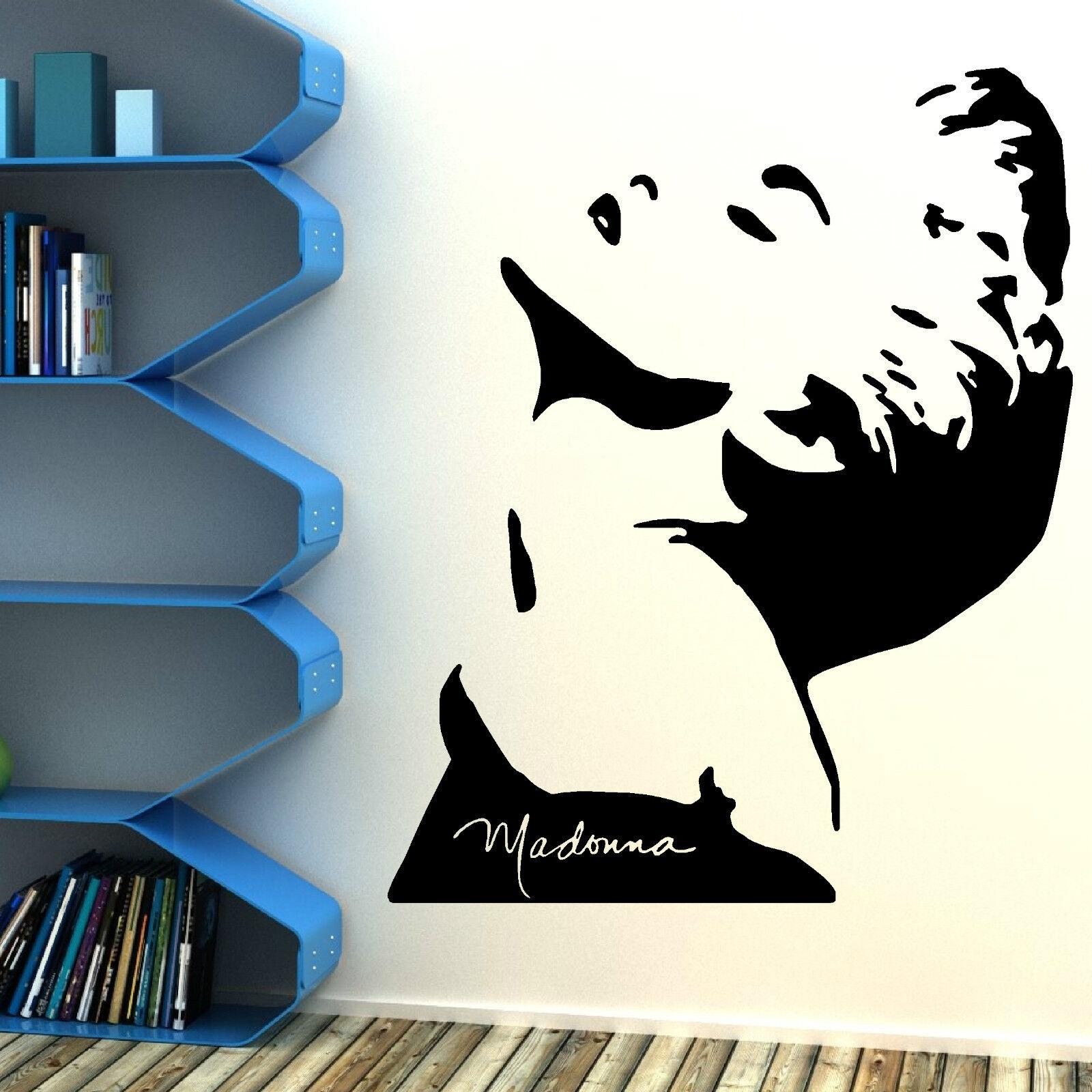 Madonna Vinyl Wall Art Sticker Decal Mural Ebay