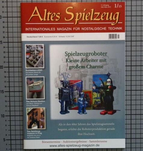 MAGAZIN ALTES SPIELZEUG ROBOTER ROBOTS LEGO SCHUCO NAUTICO SPACE BLECHSPIELZEUG