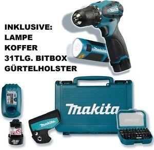 MAKITA-AKKU-SCHRAUBER-DF-330-DWE-DWLX-DWLX1-LAMPE-ML-100-31TLG-MAKITA-BITSET