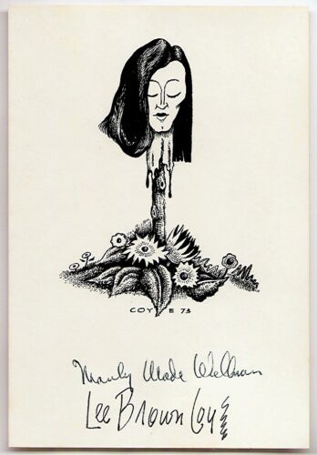 MANLY WADE WELLMAN / LEE BROWN COYE: SIGNED BOOKPLATE. CARCOSA in Collectibles, Science Fiction & Horror, Other | eBay
