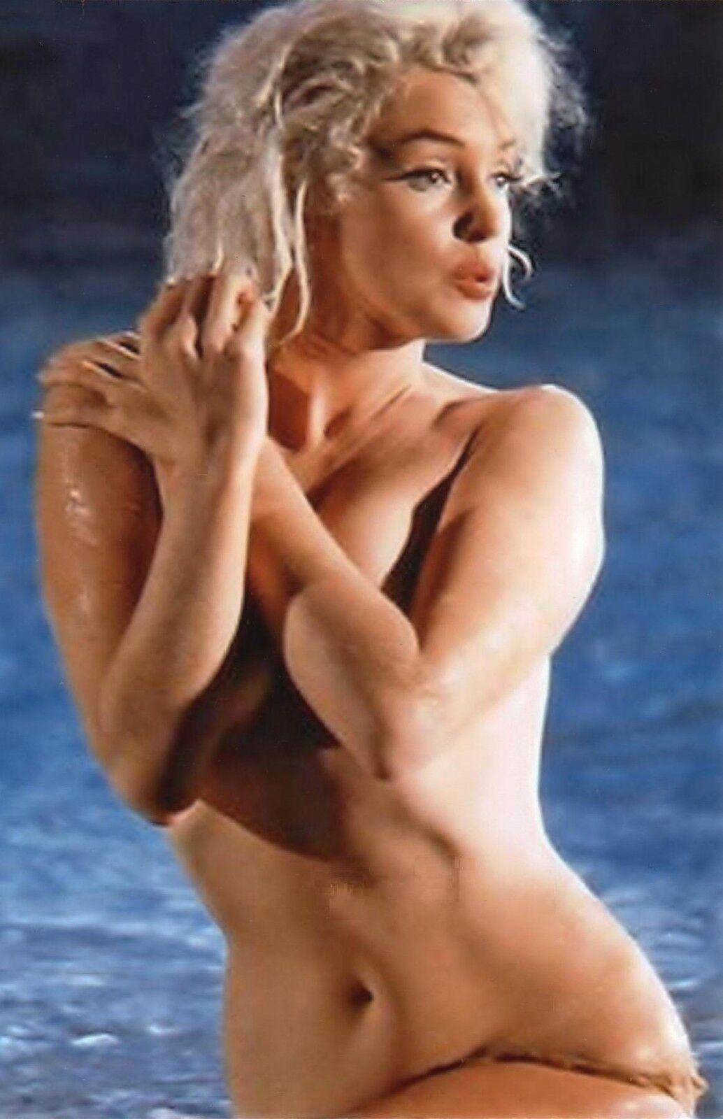 Marilyn monroes last nude photo shoot