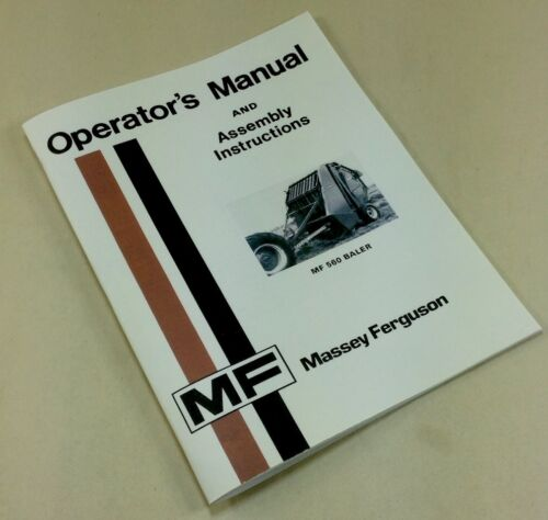 Massey Ferguson Model 3 Baler Service Manual