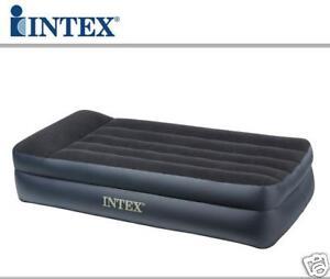 Materasso gonfiabile singolo intex queen blu letto ebay for Letto gonfiabile