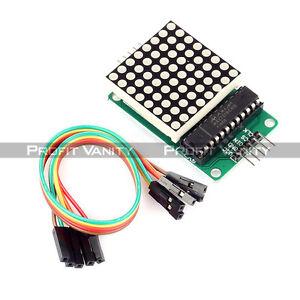 MAX7219-Dot-Matrix-Assembled-Module-MCU-Control-LED-Display-For-Arduino