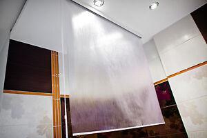 ma anfertigung halb kassetten duschrollo duschvorhang. Black Bedroom Furniture Sets. Home Design Ideas