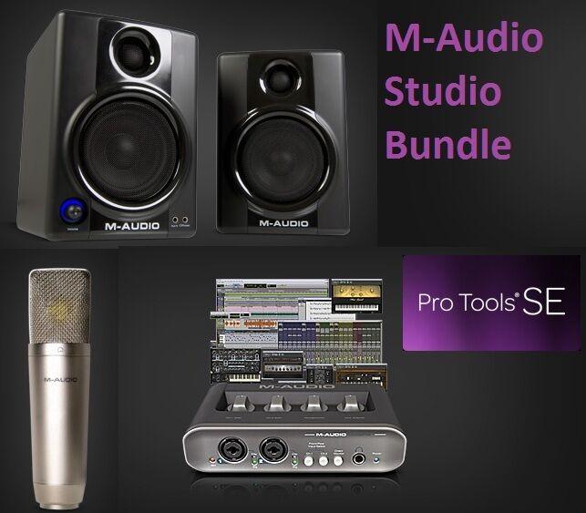 maudio mobile pre ii audio interface pro tools se nova microphone av. Black Bedroom Furniture Sets. Home Design Ideas