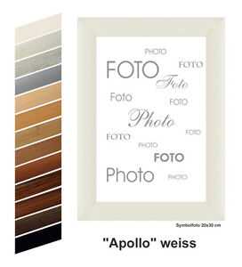 MDF-Bilderrahmen-APOLLO-Dekor-viele-Farben-viele-Groessen