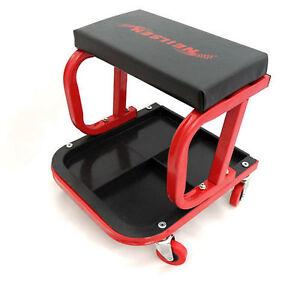 MECHANICS SEAT MECHANIC STOOL PADDED CAR CREEPER CREEPERS ...  |Auto Mechanic Chairs