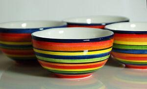 mediterranes geschirr kleine sch ssel 13 cm bunt bassano keramik ebay. Black Bedroom Furniture Sets. Home Design Ideas